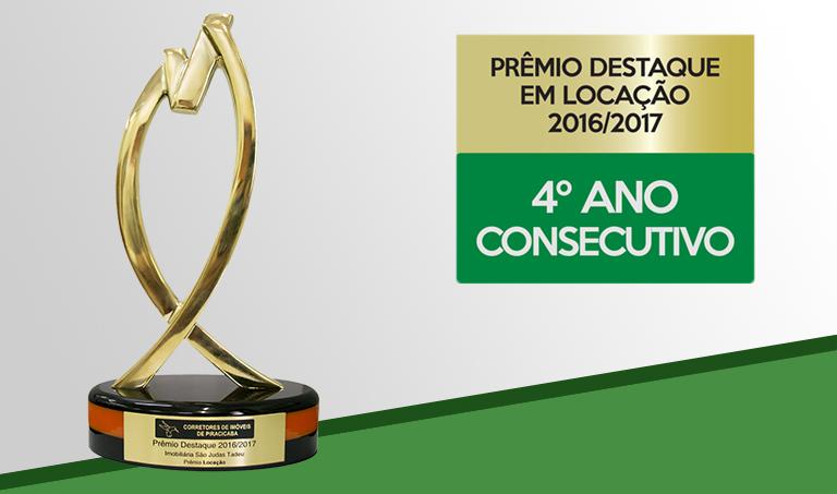 DESTAQUE EM LOCAÇÃO - Prêmio Destaque  2016/2017