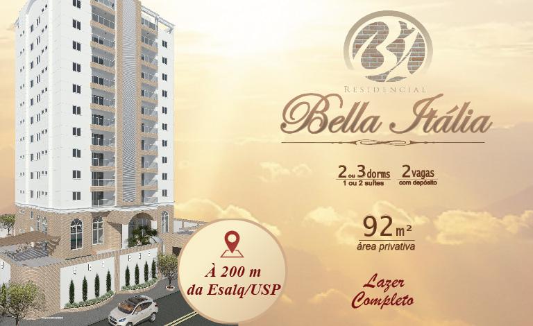 Residencial Bella Itália - À 200 m da ESALQ!